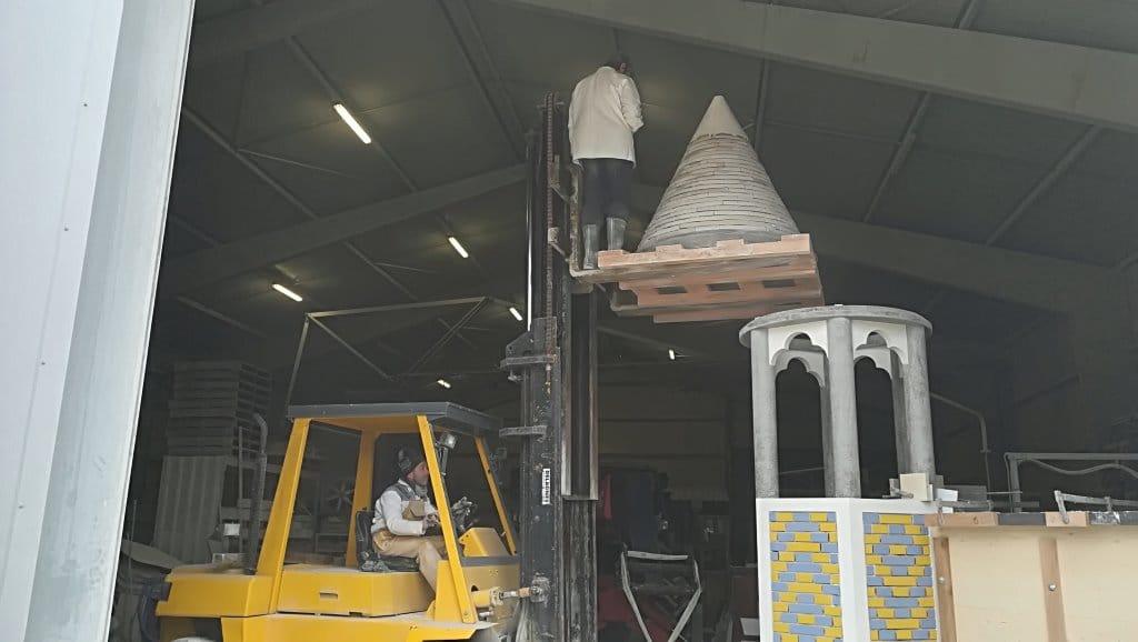 Un chef-d'œuvre en béton pour le Meilleur Ouvrier de France maçonnerie