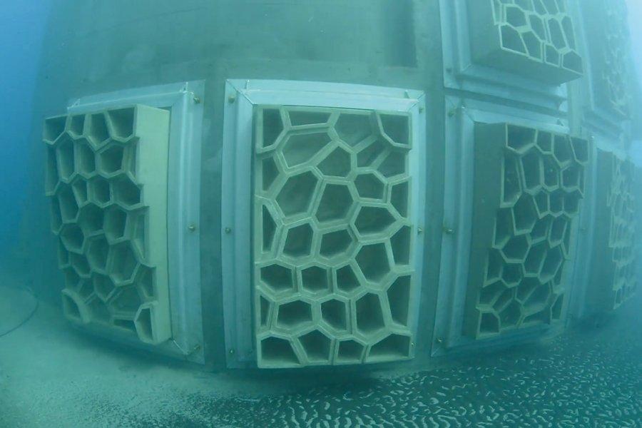 béton marin
